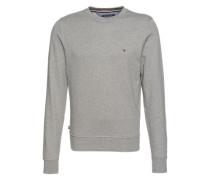 Unifarbenes Sweatshirt hellgrau