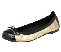 Ballerina gold / schwarz