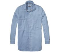 Blusen 'Boyfriend pocket l/s shirt Dril'