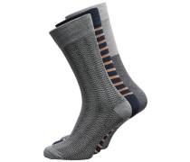 Socken 3er-Pack navy / grau
