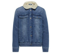 Jeansjacke nitateddy blue denim