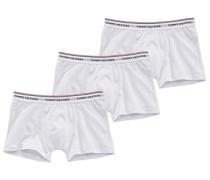Boxershorts im 3er Pack weiß