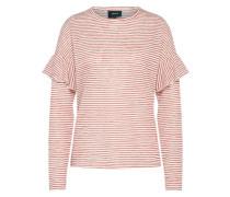 Pullover 'jastha' rot / weiß