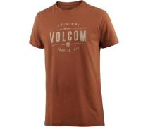 'garage Club LW' T-Shirt Herren dunkelorange