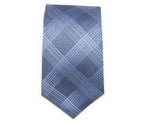 Krawatte ' Brown Label ' blau / hellblau