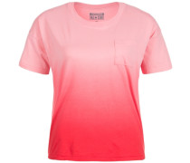 Sun Fade Dip Dye Swing T-Shirt Damen pink