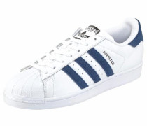 Sneaker 'Superstar' blau / weiß