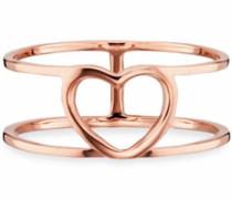 Fingerring 'love Herz <3; C7325R/90/00' rosegold