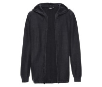 Strick-Cardigan 'nitracer' schwarz