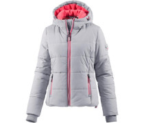 Sports Puffer Steppjacke Damen grau