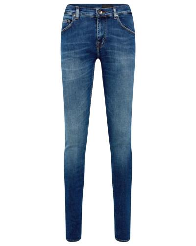 Jeans 'slim.' blue denim