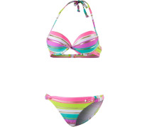 Push-up-Bikini mischfarben