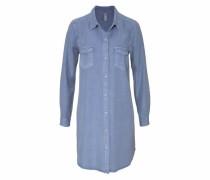 Longbluse 'Rabiha2' blau