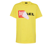 Casual T-Shirt gelb