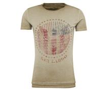 T-Shirt 'MT Dusk round' khaki