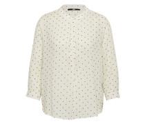 Bluse 'Rapoha' weiß / schwarz