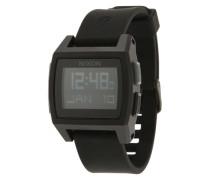 Digitale Armbanduhr 'Base Tide' schwarz