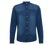 Slim Fit Jeanshemd 'Keez' blau