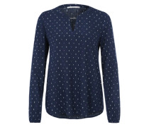 Bluse 'Double collar' navy