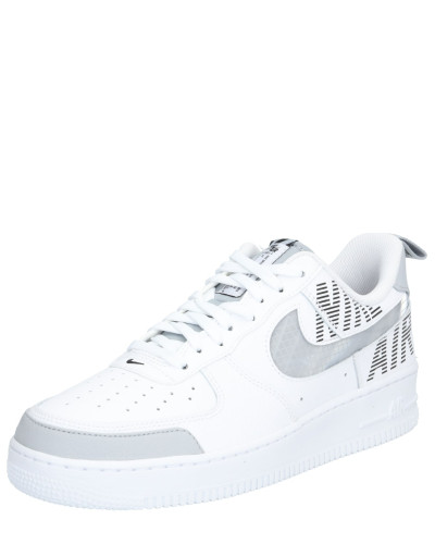 Sneaker 'air force' grau / weiß