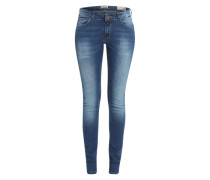 Slim Fit Jeans 'Celia' blau