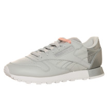 Low Sneaker 'Classic Leather Matte Shine' silber