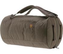 'Splitpack' Large Kofferrucksack dunkelbraun / oliv