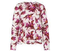 Bluse aus Viskose 'Barton' lila / weiß