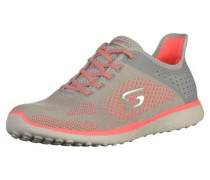 Sneaker grau / melone