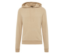 Pullover 'washed Hoody' beige
