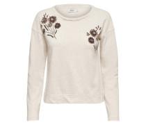 Sweatshirt Detailliertes beige