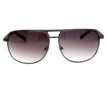 Sonnenbrille Grau grau / schwarz