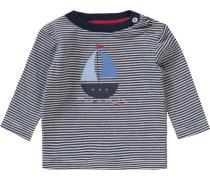 Baby Langarmshirt blau / rot