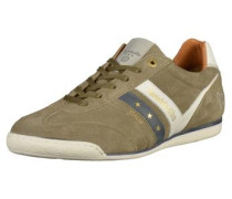 Sneaker oliv / weiß