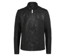 Kunstlederjacke 'biker jacket'