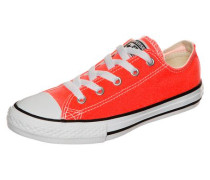 'Chuck Taylor All Star Fresh Colors OX' Sneaker Kinder orange