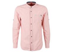Slim: Chambray-Hemd rosa