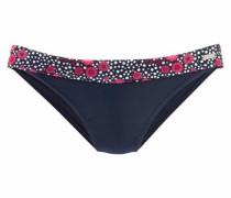 "Bikini-Hose ""Flori"" blau / rot / weiß"