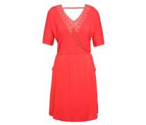 Kleid Tamar orangerot