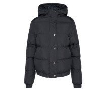 Winterjacke 'Hooded Puffer Jacket' schwarz