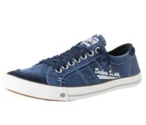 Sneaker Denimoptik navy