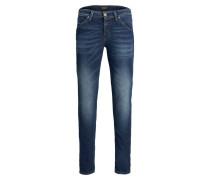 Glenn Fox BL 932 Indigo Knit Slim Fit Jeans