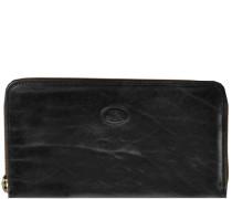 Story Donna Damen-Geldbörse Leder 19 cm schwarz
