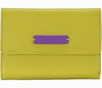 Leo Geldbörse Leder 147 cm gelb