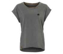T-Shirt 'Muschigockel' grau