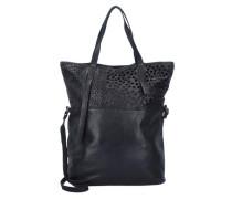 Traditional Shopper Tasche Leder 32 cm schwarz