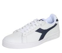Sneaker 'Game L Low Waxed' schwarz / weiß