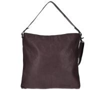 Bronco Shopper Tasche Leder 35 cm dunkelbraun