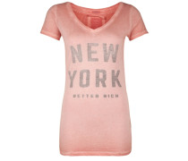 T-Shirt New York pink