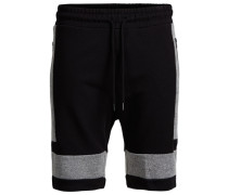 Regular-Fit-Sweatshorts schwarz